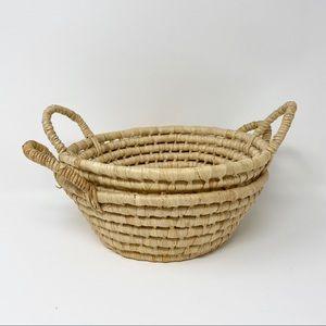 Wicker Coil Baskets - Set of 2